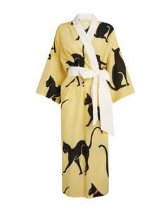 Silk Cat Amaya Midi Robe