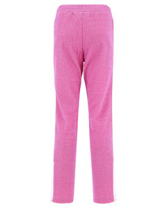 Pleated houndstooth wool-flannel wide-leg trousers
