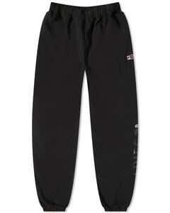 Logo-embroidered silk crepe de Chine blouse