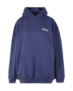 sweatshirt with HOODIE AND LOGO