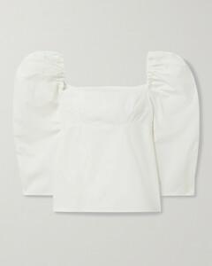 Net Sustain Anita Organic Cotton-poplin Blouse
