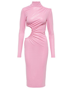 fitted padded coat