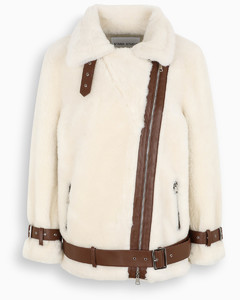 White wool Colleen jacket