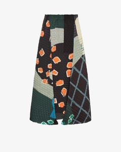 Temporary Room Pleats Midi Skirt