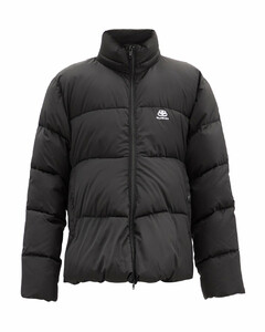 C-shape quilted shell jacket