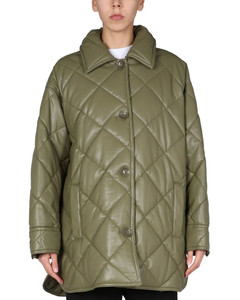 Lavender Clairmont Reversible Packable Puffer Jacket, Brand Size Large