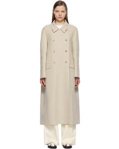 米色Dilona大衣