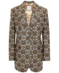 Iconic turtleneck cape-sleeve cashmere coat