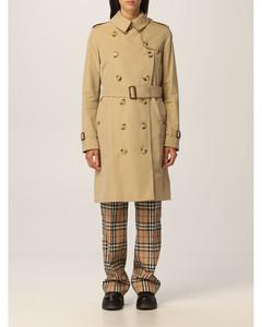Kensington trench coat in cotton gabardine