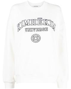 Woman Printed Silk-blend Crepon Tunic