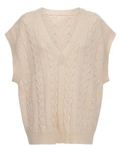 Jules Wool Blend Cable Knit Vest