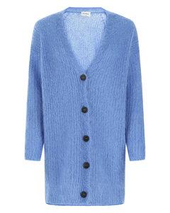 Patchwork vintage embroidered-velvet robe