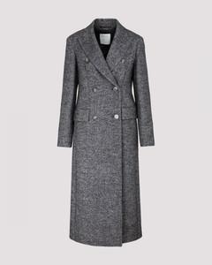 Tweed Wool Coat