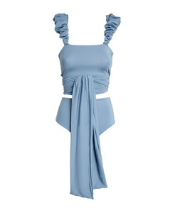 Midweight Batwing Jersey Sweatshirt in Yellow