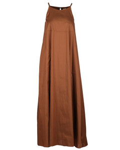 Amal black faux leather trench coat