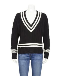 Polo Ralph Lauren Ladies Cricket Cotton Sweater