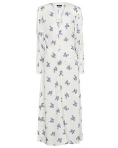 灰白色印花短裤