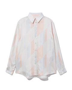 Pattern print shirt