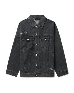 黑色三叶草连体泳衣