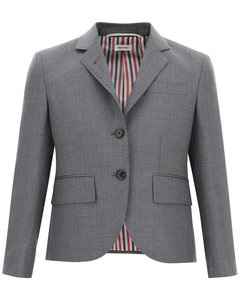 SUPER 120'S SINGLE-BREASTED JACKET