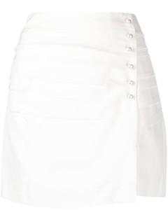 Multilingual logo cotton-blend hoodie