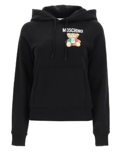 ITALIAN TEDDY BEAR HOODED SWEATSHIRT