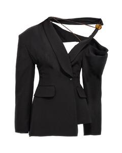 棉质抓绒半高领运动衫