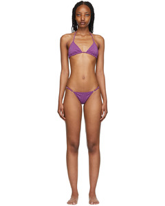 Orange cut-out high-neck top