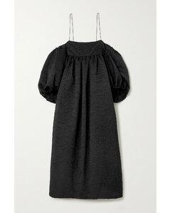 Holly Oversized MatelasséSatin Dress