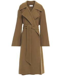 Woman Efo Cashmere And Wool-blend Felt Coat