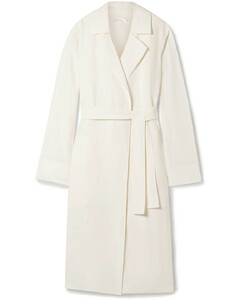 Woman Gami Belted Canvas Trench Coat