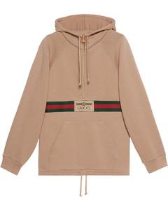 Web-detail hoodie