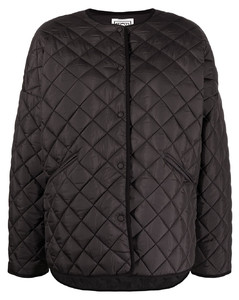 oversized quilted jacket