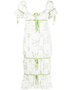 Black stretch viscose blend sweatshirt