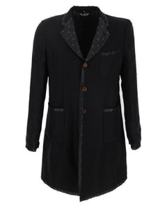 Woman Belted Fringe-trimmed Intarsia-knit Cardigan