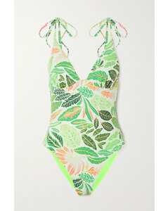 The Olympia Reversible Printed Swimsuit