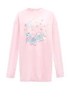 Love Bear-print cotton-jersey T-shirt
