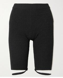 Sierra Ribbed Linen-blend Shorts