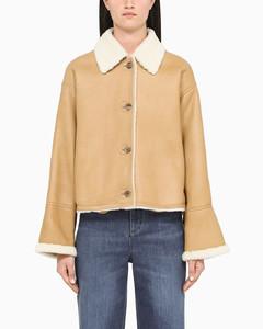 Shearling short jacket