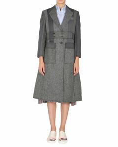 Norfolk Panelled Belted Overcoat