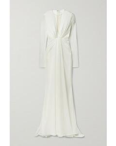 Ruched Lurex Gown