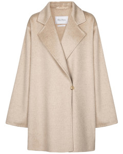 Kassel double-faced cashmere coat