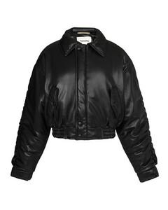 Aida bomber jacket in vegan leather