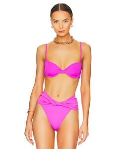 Strass logo embellished hoodie