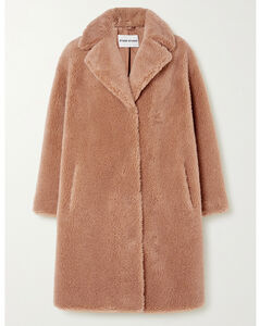 Camille Cocoon Oversized Faux Shearling Coat