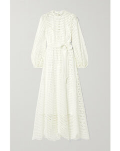 Poppy Broderie Anglaise Voile Maxi Dress