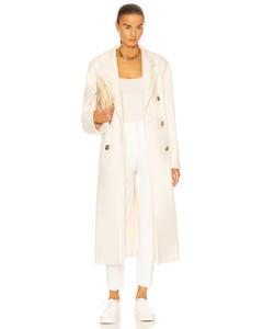 Madame Coat in White