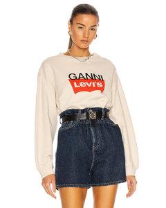 x Levi's Jersey Sweatshirt in Neutral