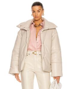 Hide Jacket in Cream