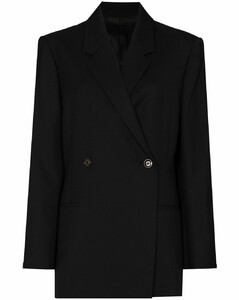 Loreo双排扣西装夹克